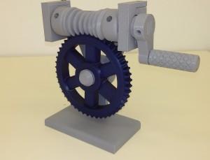 Šnekové soukolí - funkční model2